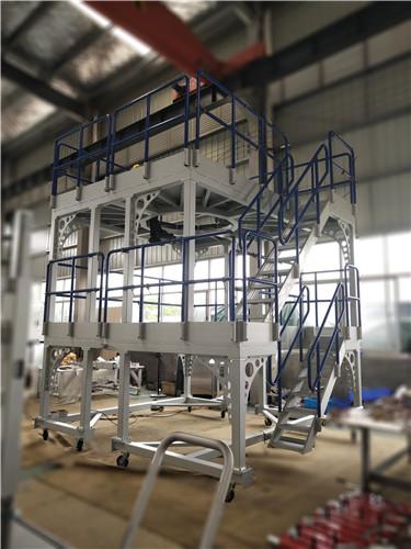 aircraft engine assembly platform