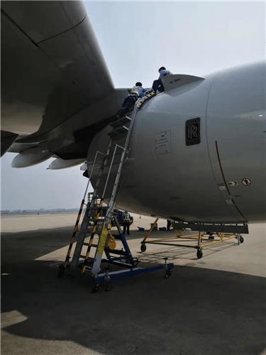 engine pylon maintenance stand