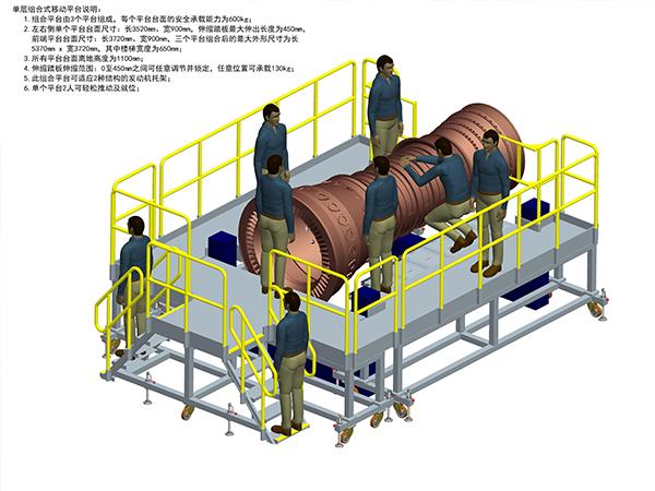 engine assembly dock