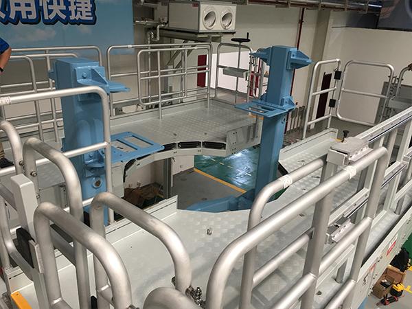 engine installation dock