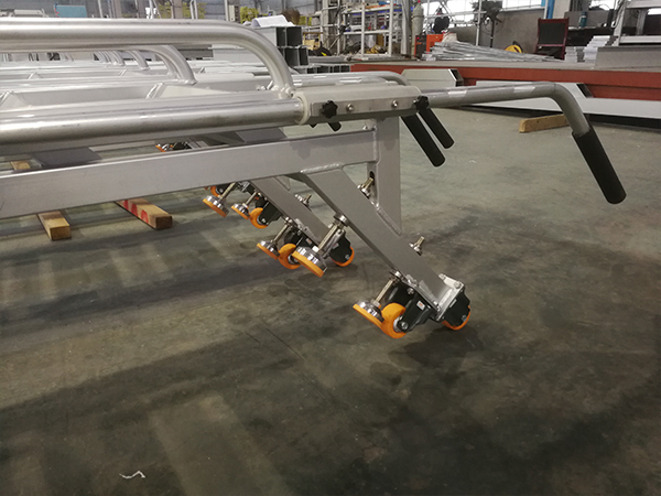 aluminum rescue ladder for railway station