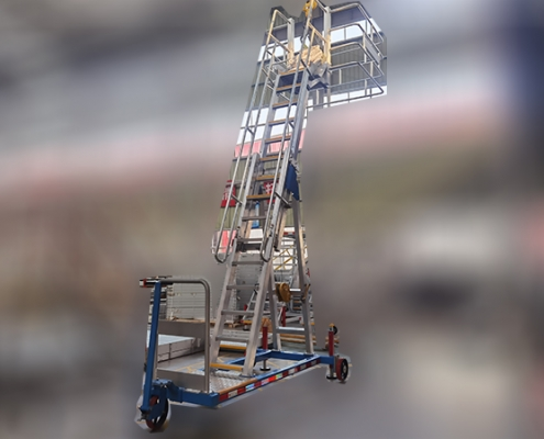 oil tanker ladder with adjustable height