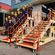 aircraft cabin door access stair