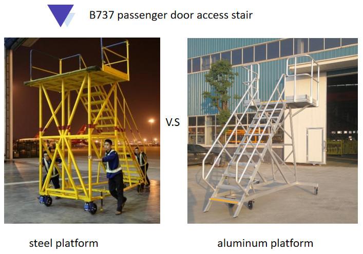 aluminum platform vs steel platform