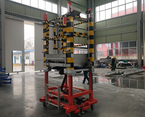 electrical mobile lifting platform